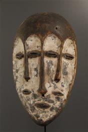 Masque Lega Lukwakongo tricéphale