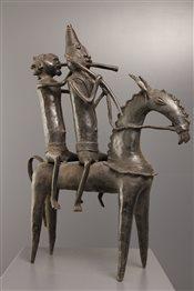 Art africain - Cavalier - Cavalier Sao-Sokoto