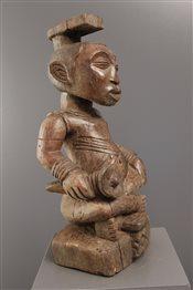 Art africain - Statues - Statue roi Kuba