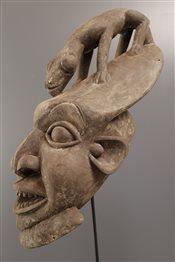 Art africain - Masques - Masque Bamoun Ngoin
