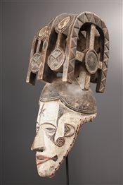 Masque casque Igbo Agbogho Mmuo
