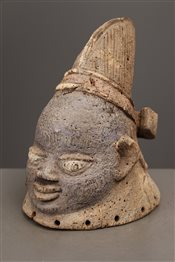 Petit masque cimier Yoruba