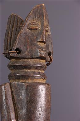 Statue janiforme Zande