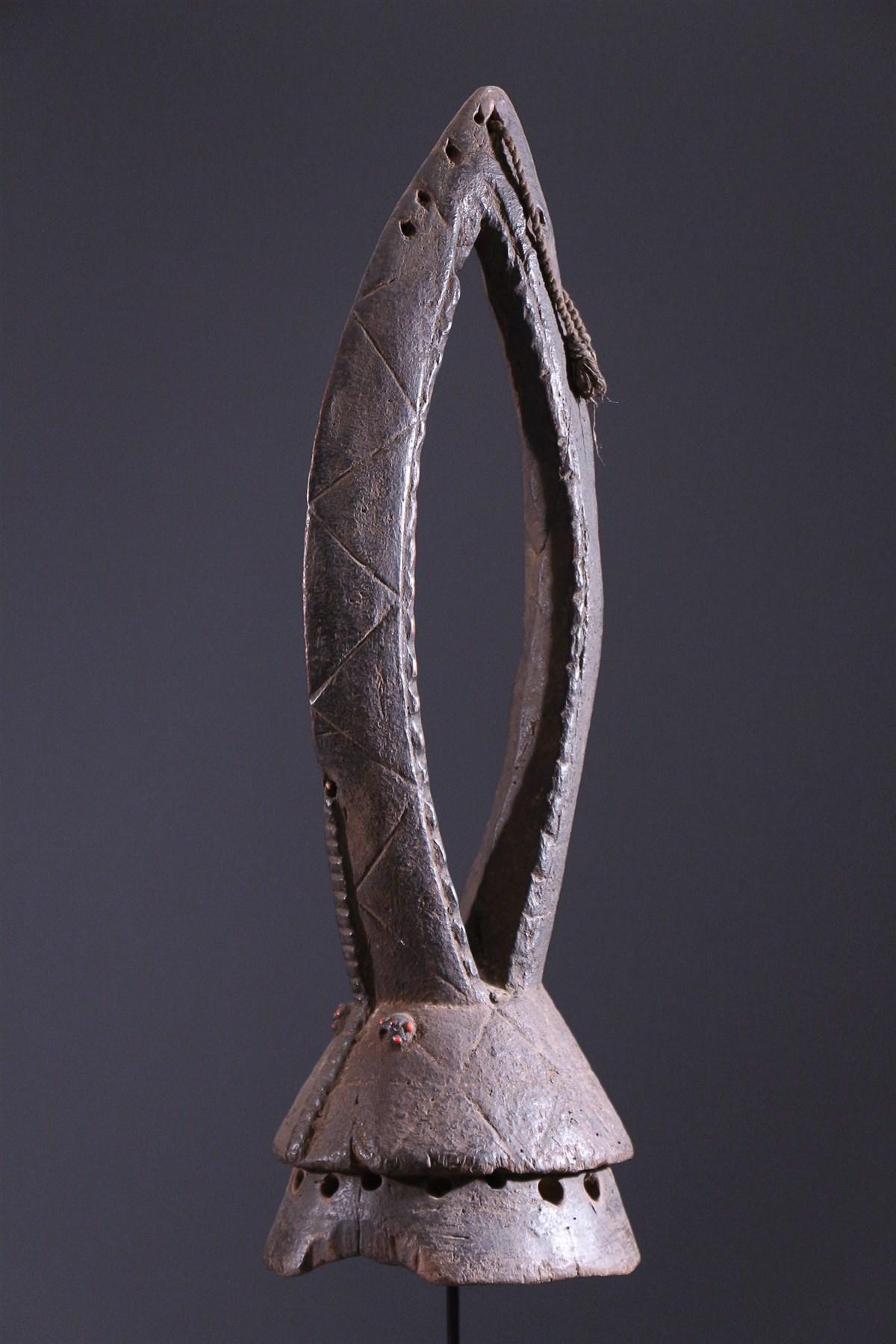 Masque cimier Gurunsi - Art africain