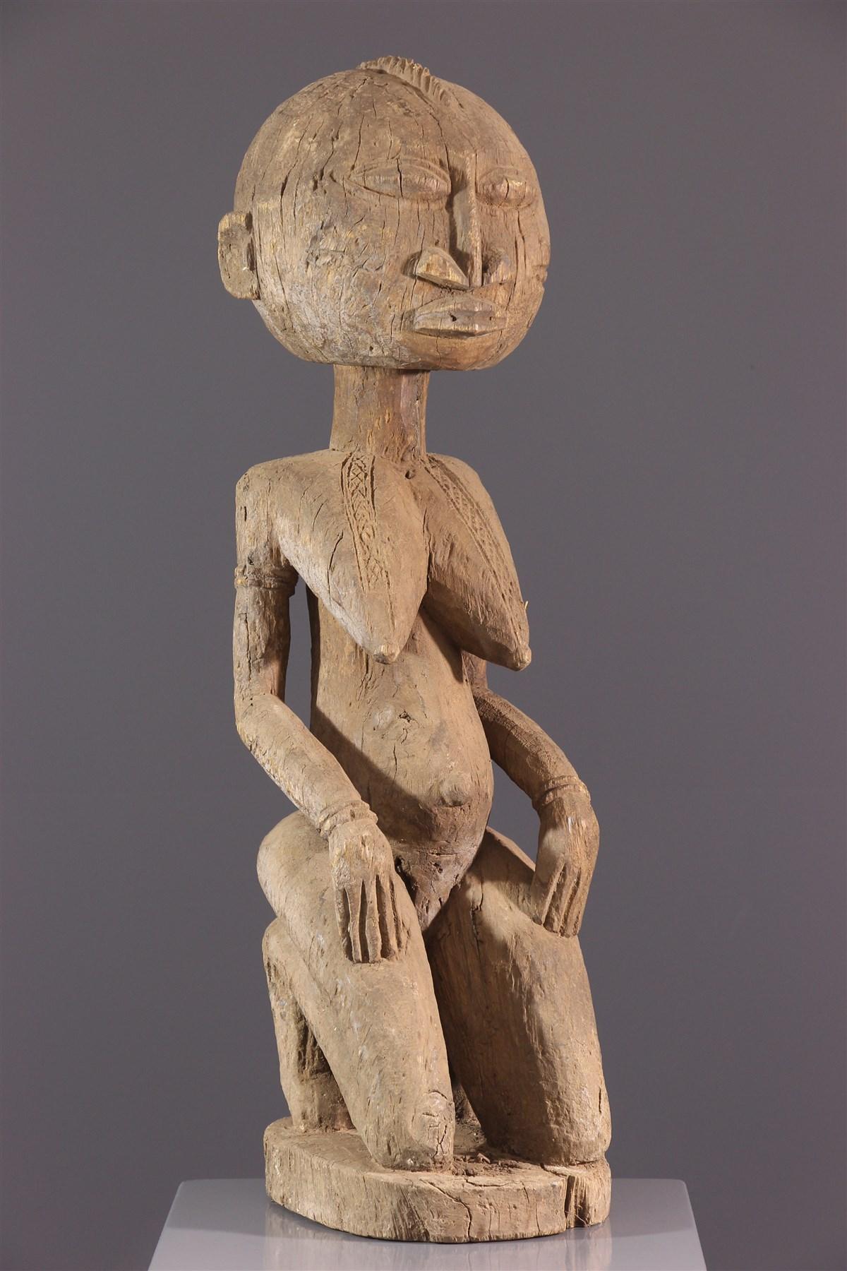 Figure féminine Dogon - Art africain