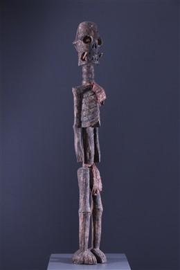 Statue squelette Tiv