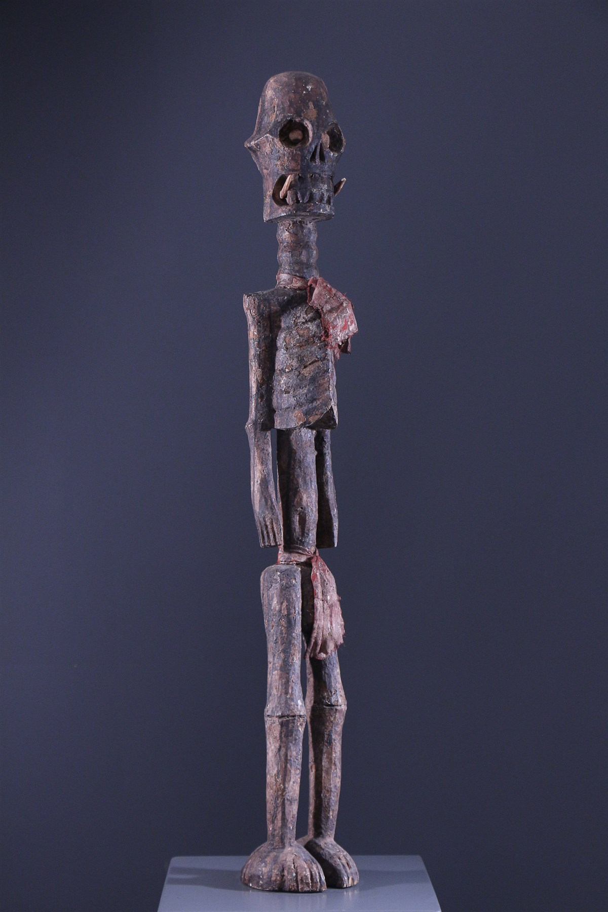Statue squelette Tiv - Art africain