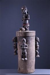 Pots, à divination, oracles, remèdes, onguentsReliquaire Fang Byéri