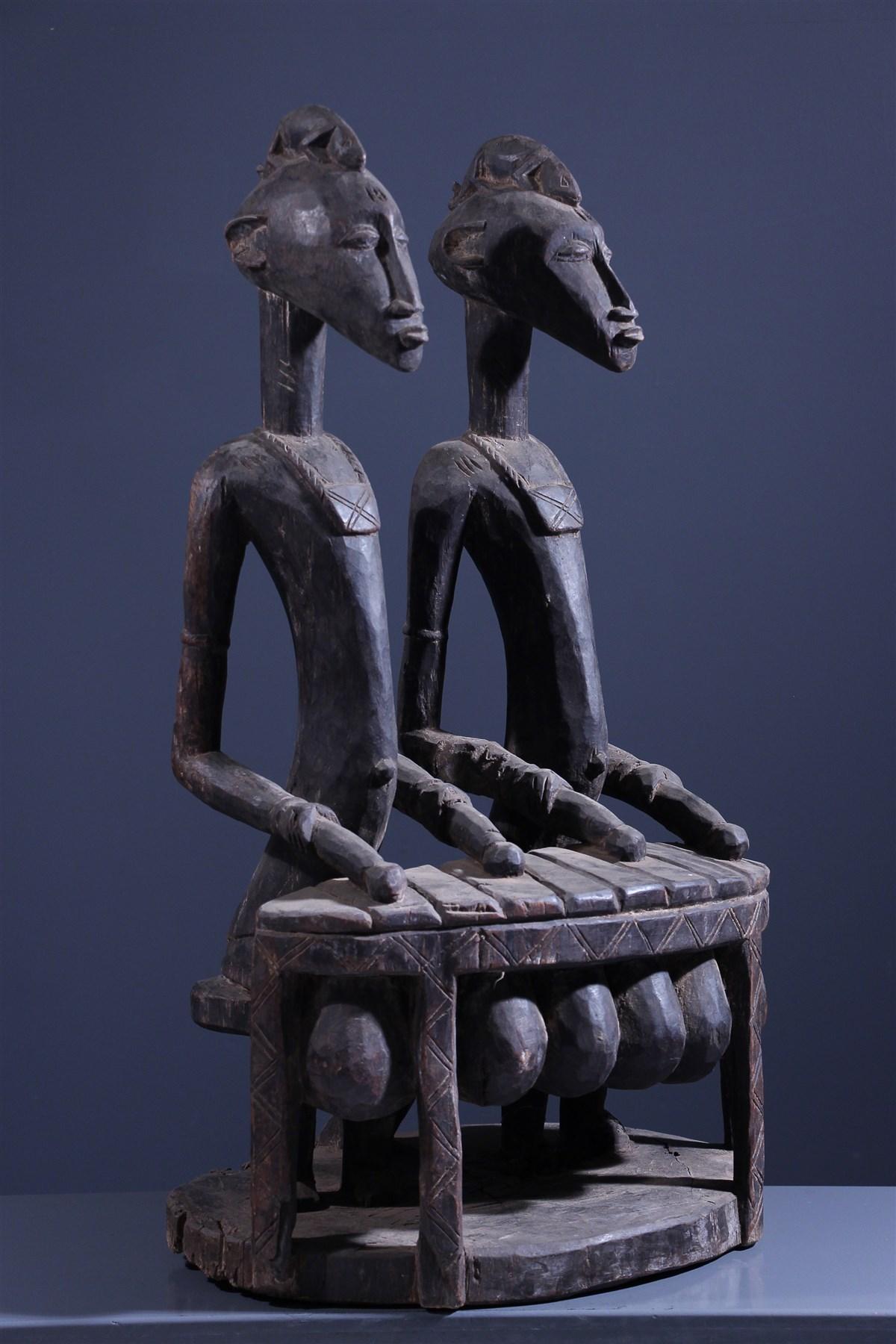 Joueurs de Balafon Senoufo - art primitif