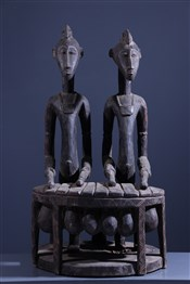 Statues africainesJoueurs de Balafon Senoufo