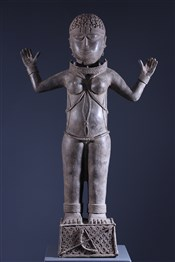 Statue royale Benin Bini Edo