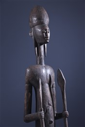 Statues africainesGrande statue de dignitaire Bambara