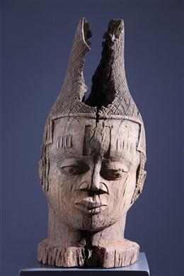 Tête de reine Benin Iyoba