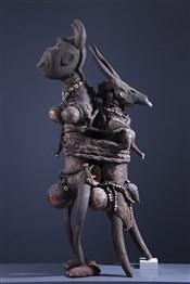 Statue Fétiche Zande