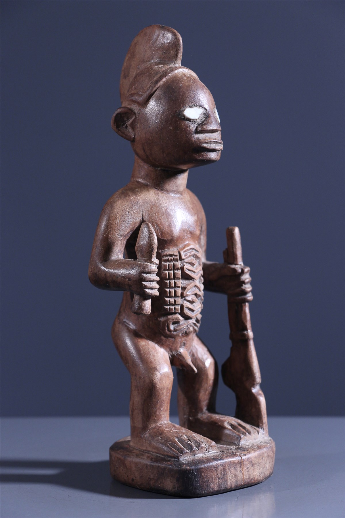 Statuette d'ancêtre Bembe - Art africain