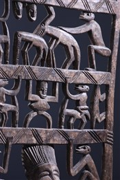 Statues africainesPanneau rituel de procession Senoufo Kwonro