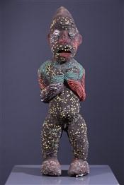 Statue perlée Bamileke
