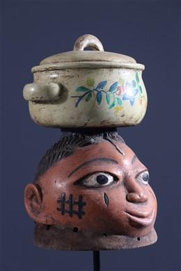 Masque Gelede Yoruba Nago