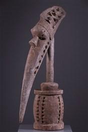 TêtesTête d autel Baga A-Tshol