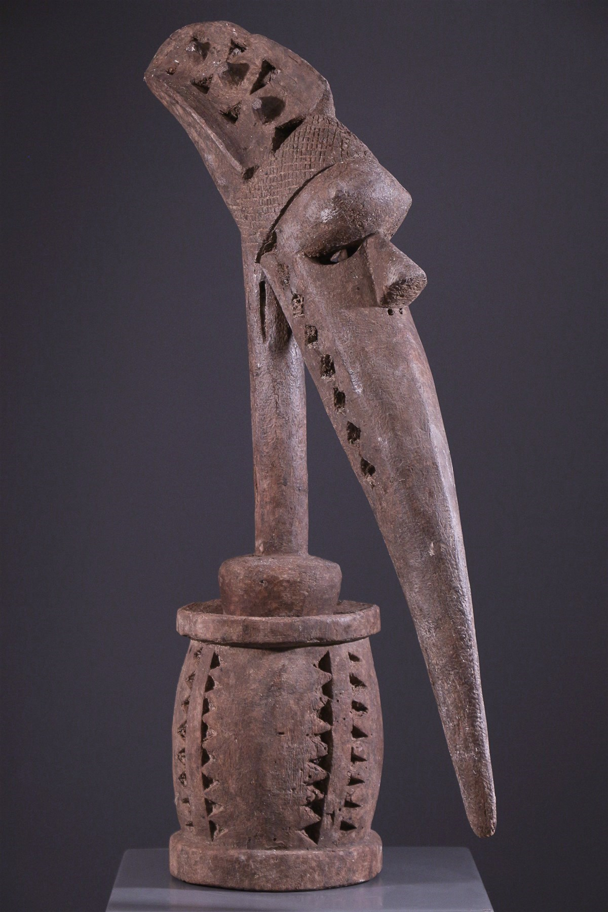 Tête d'autel Baga A-Tshol - art africain