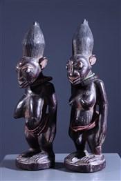 Paire d'Ibedji Igbomina Omu Aran Yoruba