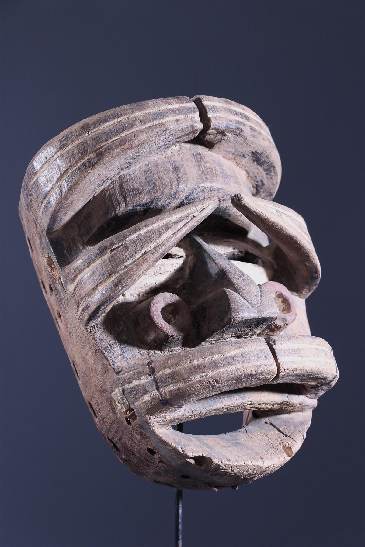Masque Gla Oubi Wé - Art africain