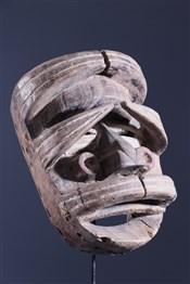 Masque africainMasque Gla Oubi Wé