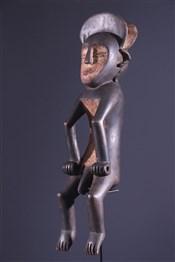 Statues africainesCouple de statues Mbole Ofika