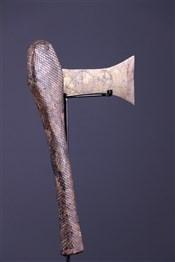Art africain - Armes - Hache Nsapo Songye