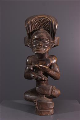 Art africain - Statuette Chibinda Ilunga Chokwe