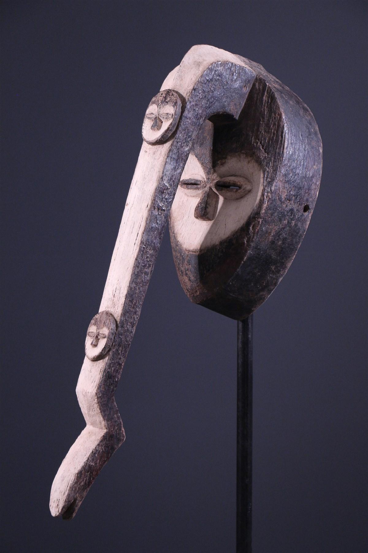 Masque Kwele Pipibudzé - Art africain