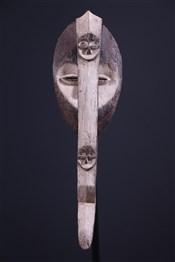 Masque africainMasque Kwele Pipibudzé
