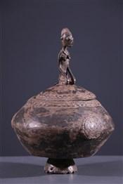 Art africain - Pots - Pot à onguents Dogon
