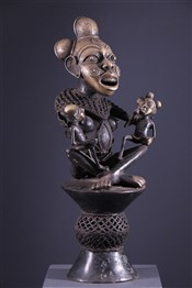 Art africain - Maternités - Maternité Tikar