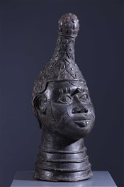Tête reine mère Iyoba Benin Bini Edo