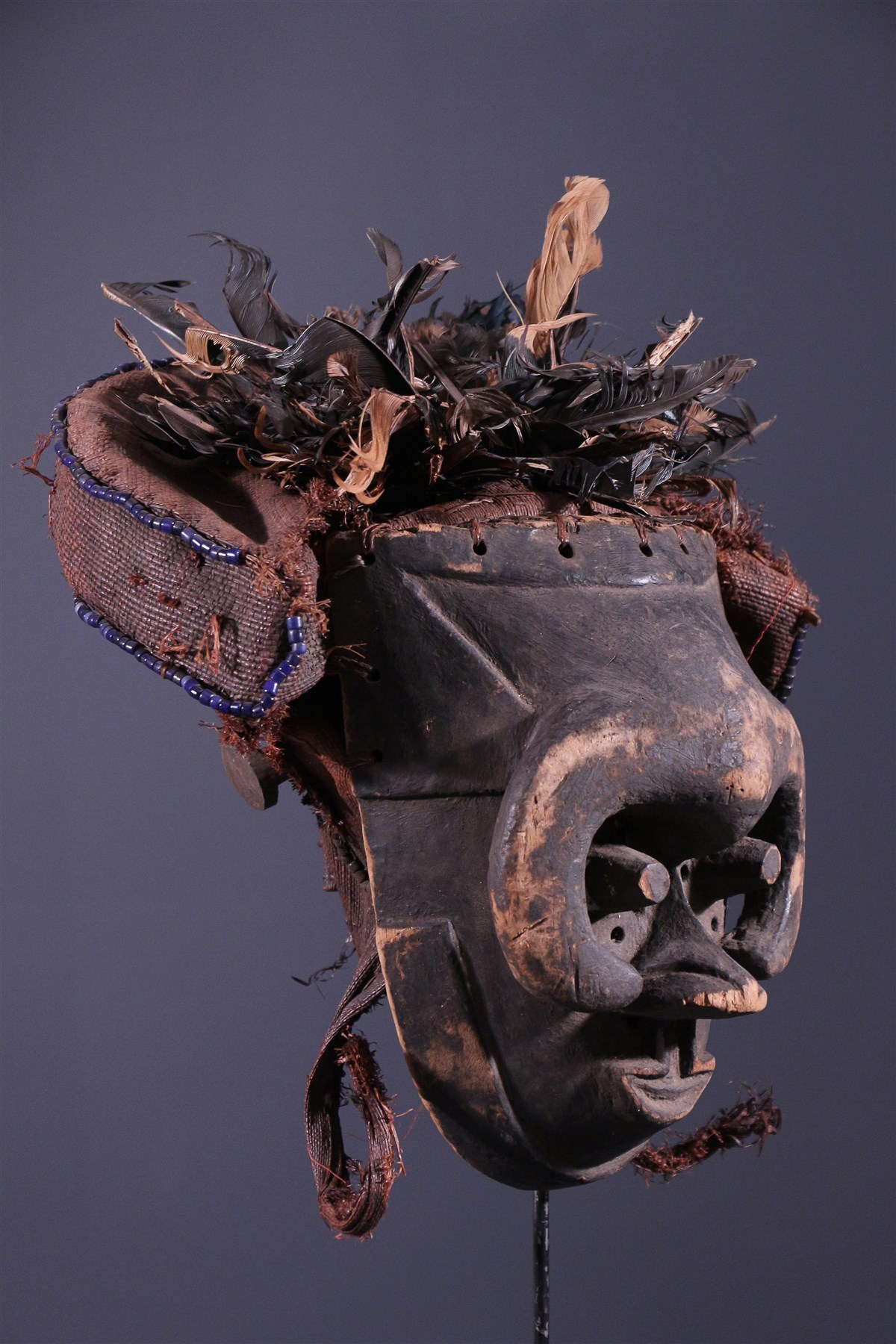 Masque Kuba Pwoom Itok - Art africain