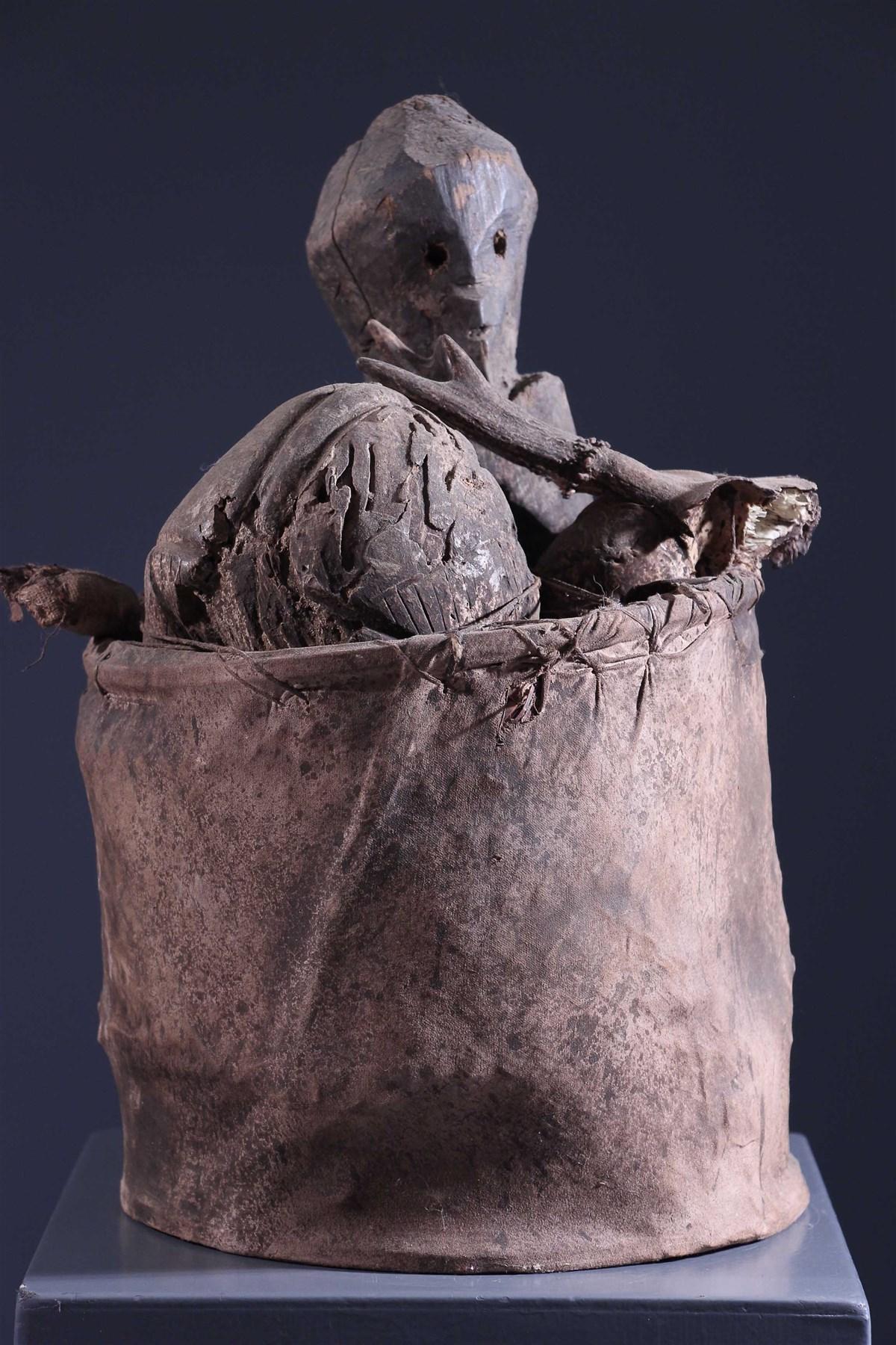 Panier reliquaire Losso - Art africain