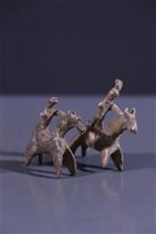 Paire de cavaliers Sao Sakoto