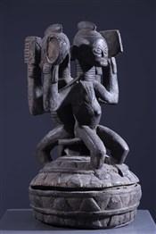 Art africain - Pots - Pot à oracle Igala