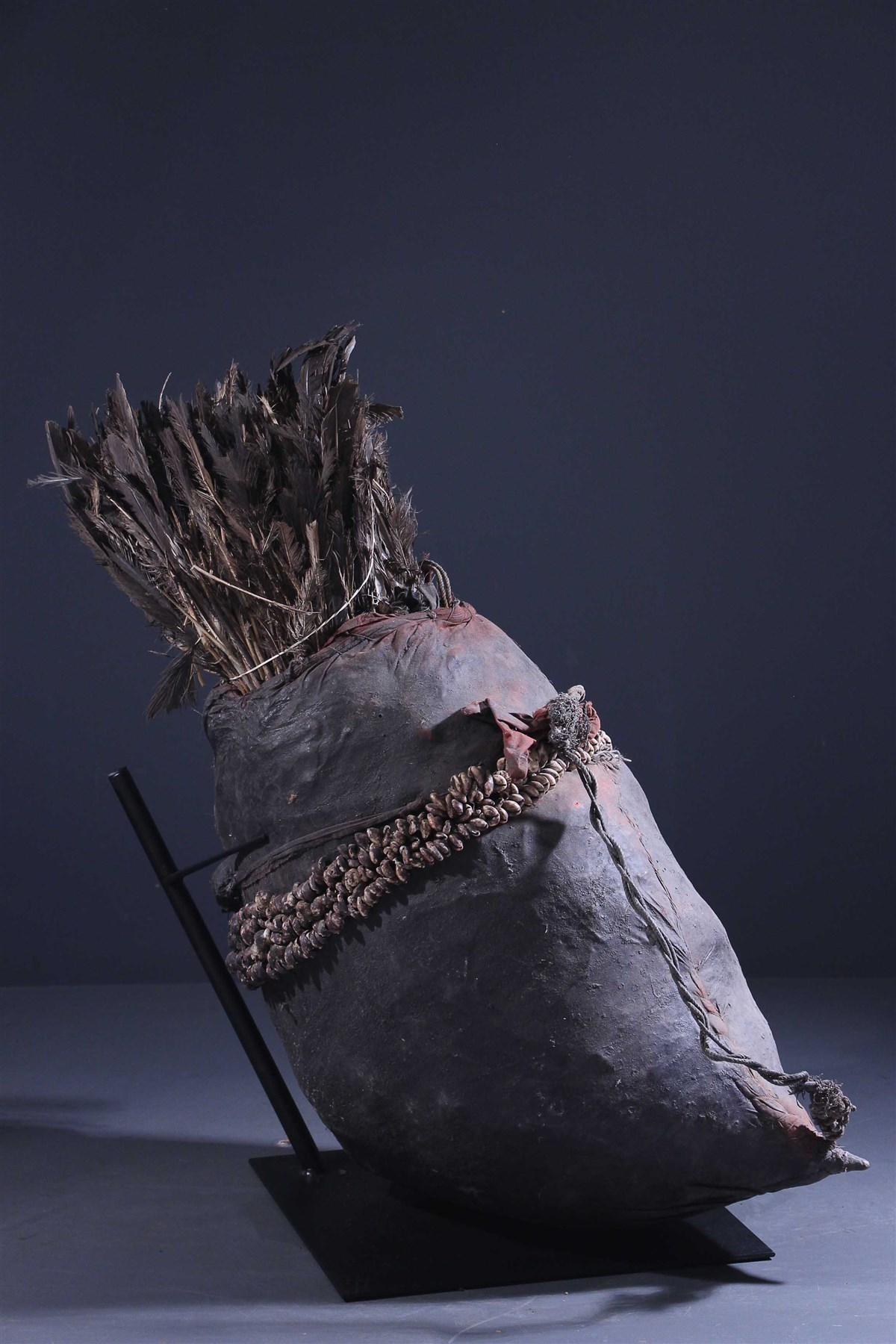 Trône fétiche Fon (Rare) - art primitif