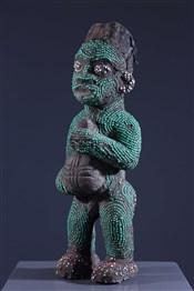 Statues africainesStatue perlée Bamileke