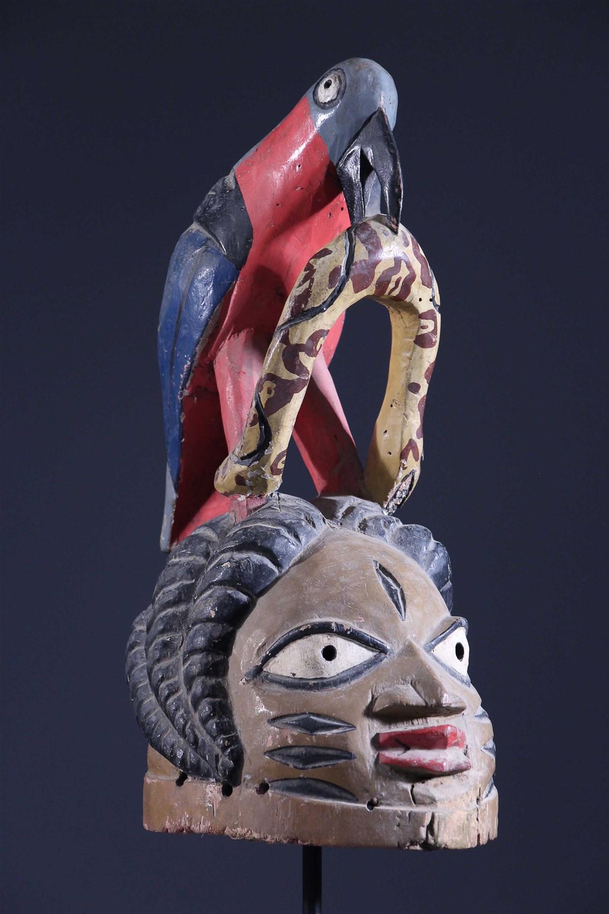 Masque Gelede Yoruba - Art africain