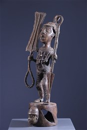 bronze africainstatue Benin