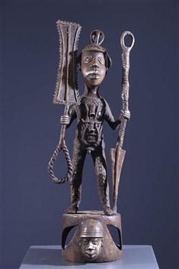 Figure de dignitaire Bénin Bini Edo