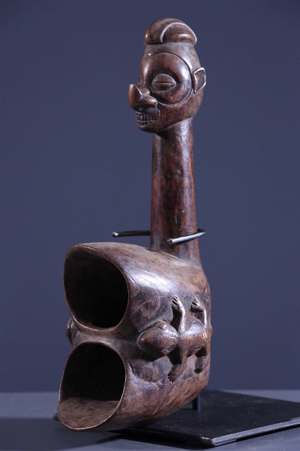 Coupe double Yaka - Art africain