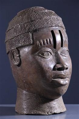 Tête commémorative d Oba Bini Edo