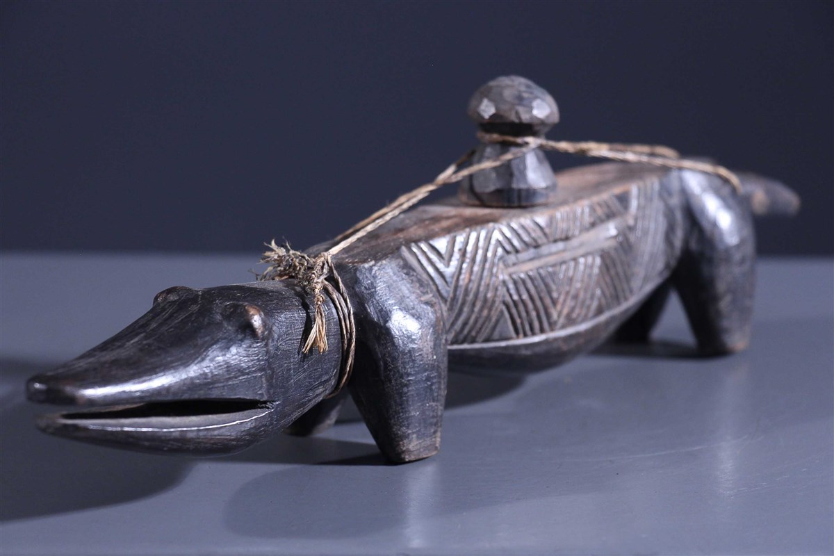 Oracle à friction Itombwa Kuba - Art africain