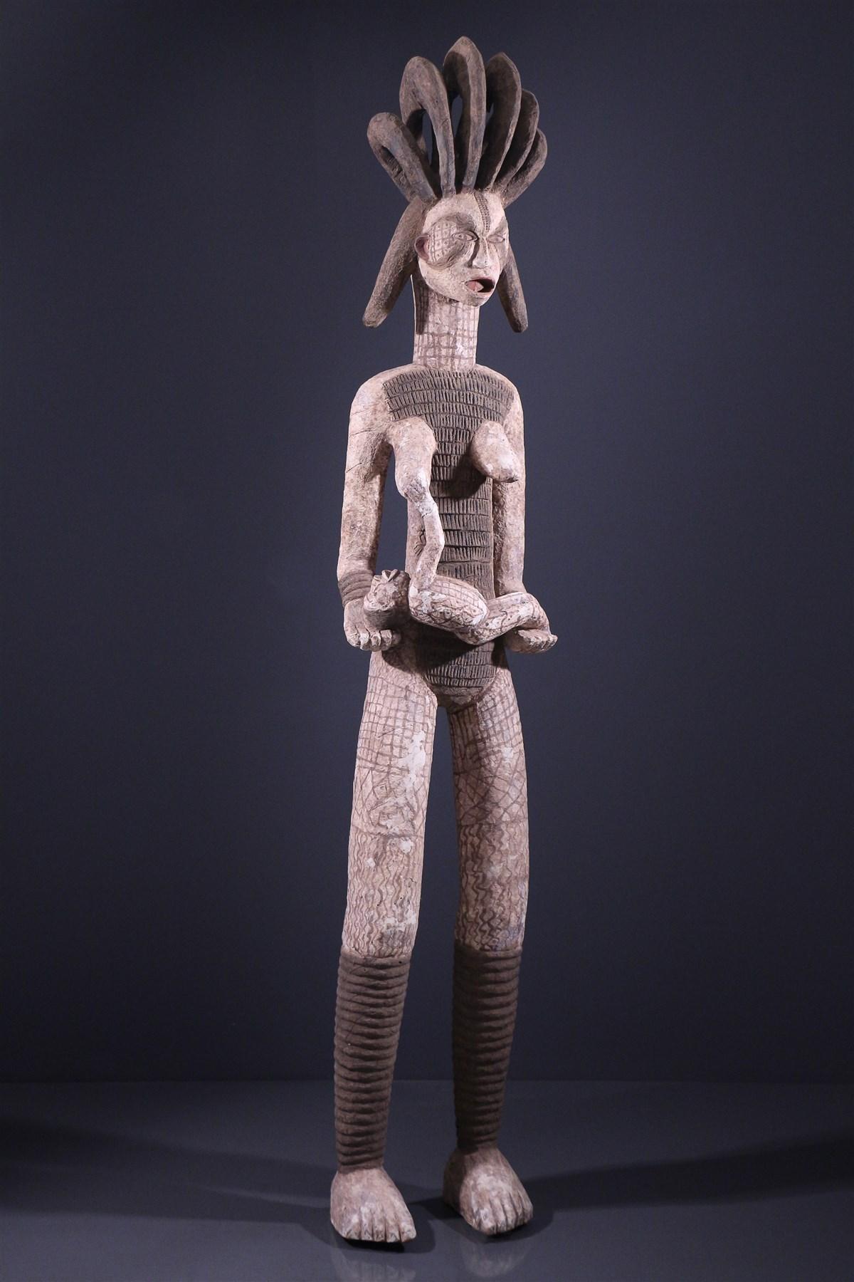 Grande maternité Igbo - Art africain