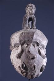 Art africain - Masques - Masque Pende Mbangu pluricéphale