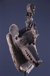 Art africain - Masques - Masque hyène Gouro